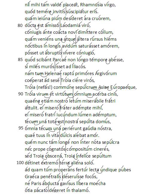 Catullo Carme 68 b